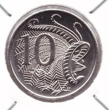 2014 Ten Cent Coin - Uncirculated - Taken from Security Roll