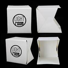 Mini LED Light Box Photography Photo Studio Portable Tent Backdrop Lighting Cube