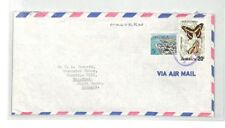 BS112 Jamaica Malvern Airmail Cover PTS