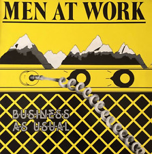 MEN AT WORK - Business As Usual (LP) (VG-/VG-) (2)