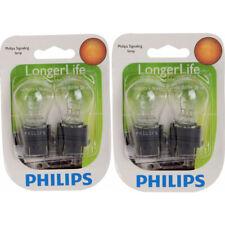 Two Philips Long Life Mini Light Bulb 4157LLB2 for 4157 4157LL S-8 12.8/14V uo