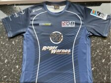 More details for gb speedway team race shirt labelled size l but measures 40