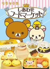 Re-Ment Miniature Sanrio San X Rilakkuma Happy Food Market Full Set of 8 pcs