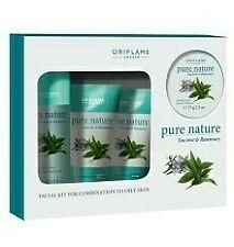 Pure Nature Tea Tree and Rosemary Facial Kit for Combination to Oily skin @ 899
