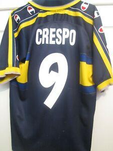 Parma AC Crespo 9 Away 1999-2000 Football Shirt Size Medium /48144