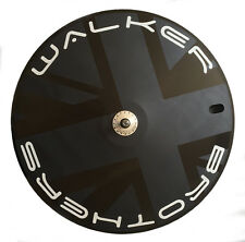 "Walker Brothers ""Revo 2"" rear track wheel tubular Fixed disc wheel 700c"