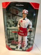 Coca-Cola Ken Soda Doll Barbie - NRFB - #25678