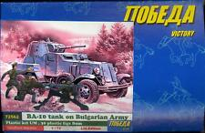BUM Models 1/72 BULGARIAN ARMY WITH BA-10 ARMORED CAR Figure Set