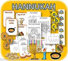 HANUKKAH Jewish festival KS1 RE topic Teaching resources powerpoints display CD