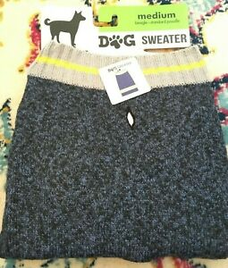 NEW- M - Pet Dog Sweater Size Medium UNISEX - Dogs 17-22 inches BOXER Poodle