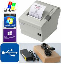 EPSON TM-T88IV KASSENBELEGDRUCKER BONDRUCKER USB BIS WIN XP 2000 7 8 WIN 10 88-6