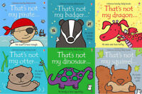 That's not my touchy feely series 4 & 5 :6 books collection Pirate Dinosaur NEW