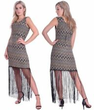 Women's 1920s Look with Fringe