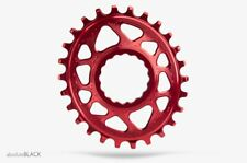 PLATO ABSOLUTE BLACK MTB OVALADO RACEFACE DM BOOST 148 ROJO 3MM OFFSET