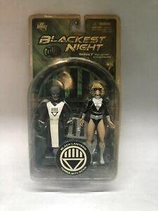 BLACKEST NIGHT SERIES 7 BLACK LANTERN TERRA WITH SCAR ACTION FIGURE DC COMICS