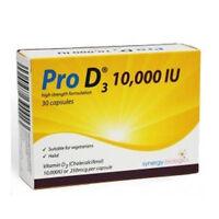 Pro D3 Vitamin D3 10000IU Capsules x 30