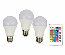 LED (RGB) 110 mm X4-LIFE 230 V E27 7.5 W = 40 W RGBW EEK: A Glühlampenform color