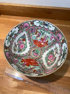 Antique Japanese Imari Pattern Small Bowl  c 1890 Hand Painted