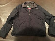 Under Armor Puffer Coat Mens Lg Free Ship