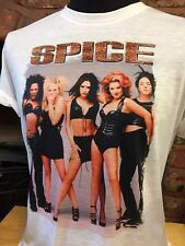 Spice Girls T-shirt. para Hombre Mujer Tallas S-XXL. 90s Retro Vintage Spiceworld
