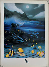 WYLAND HANALEI BAY MIXED MEDIA SIGNED #507/750 W/COA