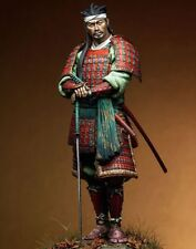 1/18 Scale 90mm Japanese Samurai with Sword Figure Resin Model Kit Unpainted