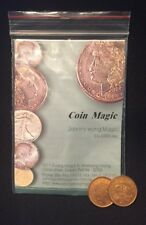 Johnny Wong 2p Split Coin And Instructions Street Magic New