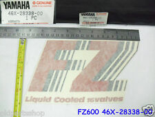Yamaha FZ600 Cowling Fairing Decal NOS Liquid Cooled 16 valves 46X-28338-00 FZ