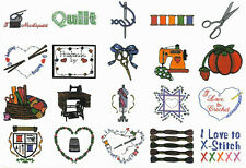 Sewing Designs I Embroidery Card for Ber. Deco, Baby Lock, Brother, Simp .pes