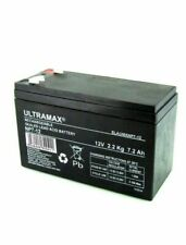ULTRA MAX NP7-12 12V 7Ah Home Alarm System Back Up   Battery Replaces