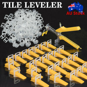 400-6000PCS Tile Leveling System Clips Plier Tiling Spacer Tool Kit Wall Floor