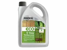 RONSEAL ECO 5YR TIMBERCARE STAIN TRIPLE CONCENTRATE 6L OAK, CEDAR, FOREST GREEN