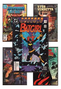 DC Comics VF/NM 9.0+ Key Issues|#1s 1981-1989 copper|bronze|modern age|era