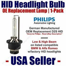 OE HID Headlight Hi/Low GENUINE German 1-Pack Select BMW & Alfa Romeo - D2S