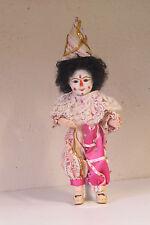 Bleuette 301 Clown Ref:: H    29 cm  Poupée Ancienne Reproduction  Antique  Doll