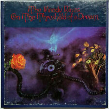 1969 REEL TO REEL TAPE THE MOODY BLUES ON THE THRESHOLD OF A DREAM 4 TRACK 3 3/4