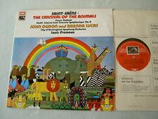 ASD 2753 SAINT-SAENS The Carnival Of The Animals Ogdon Lucas Fremaux vinyl LP