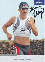 Thomas HELLRIEGEL - Deutschland, Gold WM 1994 Triathlon, Original-Autogramm!