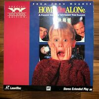 Home Alone Laserdisc, Widescreen Stereo Extended Play, Fox Video (1991)