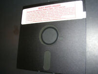 "HEAVY WATER JOGGER Rare Shareware Video Game 5.25"" Floppy Disk PC DOS"