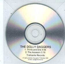 (BQ580) The Dolly Daggers, Thrills and Sills - 2005 DJ CD
