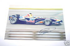 David Coulthard Hand Signed Photo 12x8.