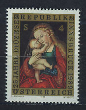 AUSTRIA 1989 MNH SC.1448 paint by Lucas Cranach,Diocese of Insbruck