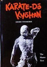 RARE KARATE-DO KYOHAN THE MASTER TEXT GICHIN FUNAKOSHI