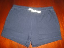 2T 2 NWOT Crewcuts Navy Blue Cotton Shorts with Canvas Tie