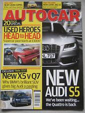 Autocar 28/2/2007 featuring Seat Leon Cupra, Audi, BMW, Porsche, Alfa Romeo SZ