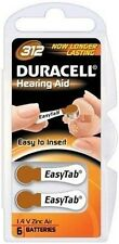 Duracell Activair Hearing Aid Batteries Size 312 (40)with FREE Batttery Caddie