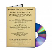 AMERICAN MACHINISTS HANDBOOK Colvin and Stanley on CD PDF