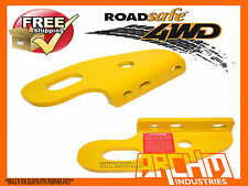 ROADSAFE PAIR OF HEAVY DUTY TOW POINTS-SUIT TOYOTA LANDCRUISER 80/100/105 SERIES