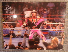 WWF 3-D Laser Scupture Collector Series BRET HART Limited Edition- HARD TO FIND
